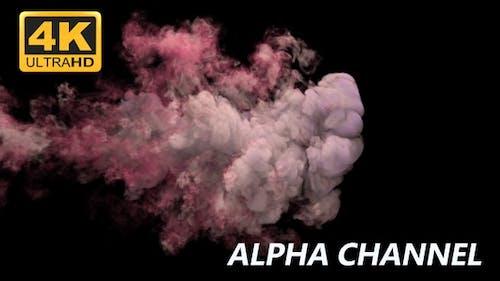 Colorful Smoke Reveal