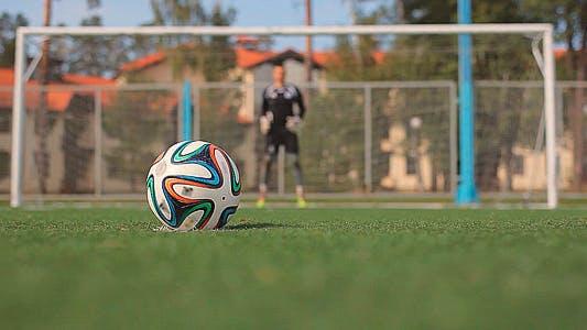 Thumbnail for Soccer Goalkeeper Returns the Ball