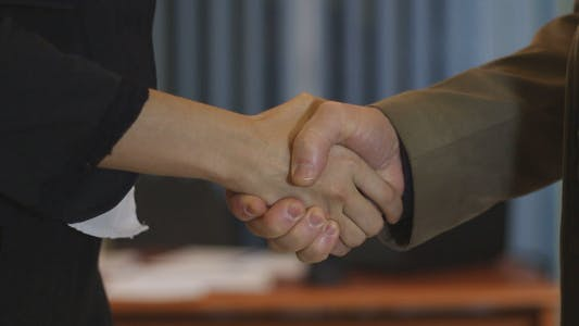 Thumbnail for Business People Shaking Hands