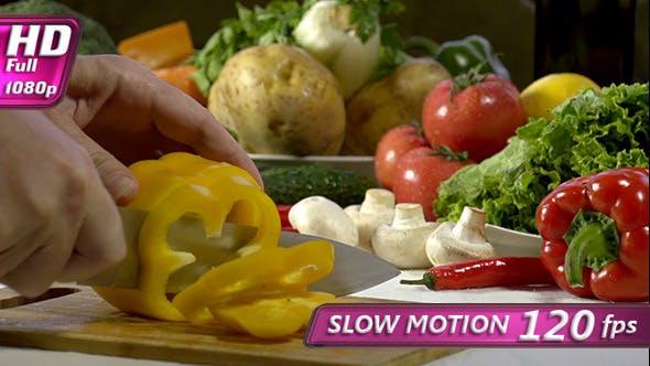 Thumbnail for Cutting Knife Bell Pepper