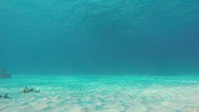 Ripples Underwater