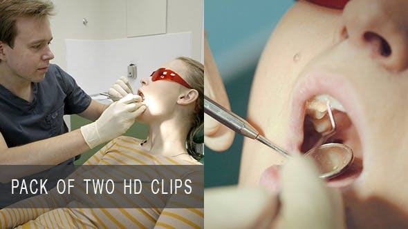 Thumbnail for Woman at Dentist Office