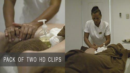 Massage im Beauty Spa