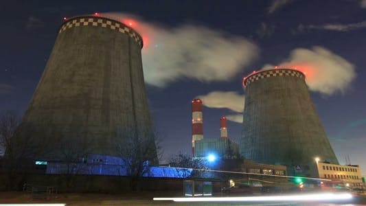 Thumbnail for Thermal Power Plant at Night Pack 1