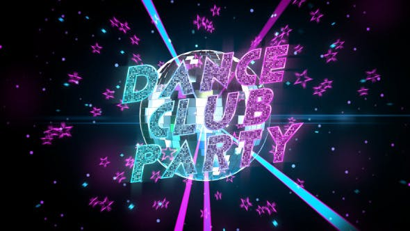 Dance Club Party Promo - Apple Motion