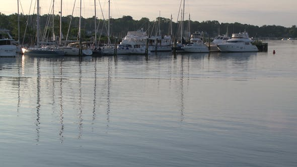 Thumbnail for Boats Moored At Early Morning (2 Of 2)