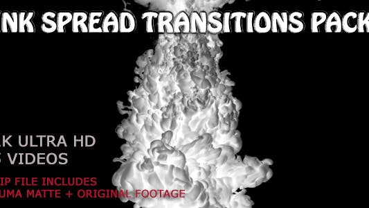 Thumbnail for Ink Spread Transitions Pack
