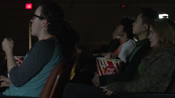 Thumbnail for Young People Watching A Movie (3 Of 7)