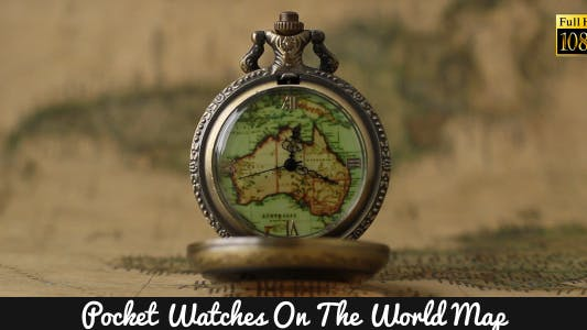 Thumbnail for Pocket Watches On The World Map 6