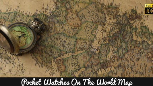 Thumbnail for Pocket Watches On The World Map 8