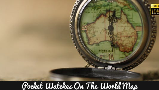 Thumbnail for Pocket Watches On The World Map 10