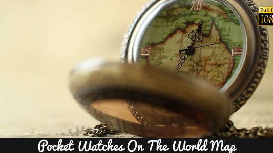 Cover Image for Pocket Watches On The World Map 11