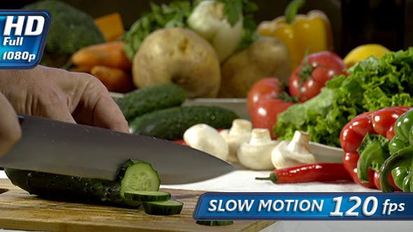 Thumbnail for Knife Sliced Cucumber
