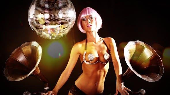 Thumbnail for Sexy Female Dj Gramophones Burlesque 2