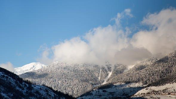 Thumbnail for Pyrenees Mountain Timelapse 4