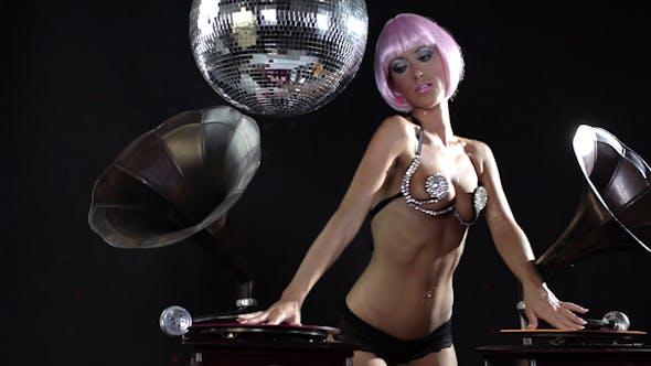Thumbnail for Sexy Female Dj Gramophones Burlesque 4