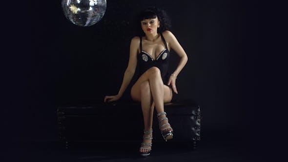 Thumbnail for Gogo Dancer Burlesuqe Disco Girl 1