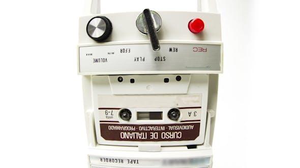 Thumbnail for Vintage Cassette Tape Recorder 3