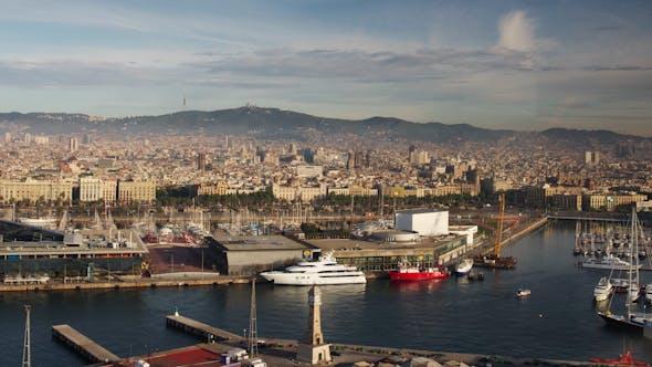 Thumbnail for Barcelona Skyline 17