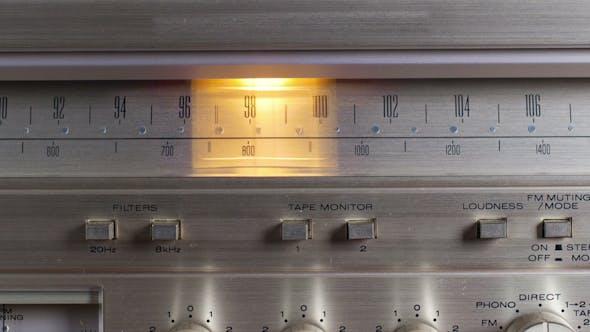 Thumbnail for Vintage Radio Dial Retro Wallpaper 2