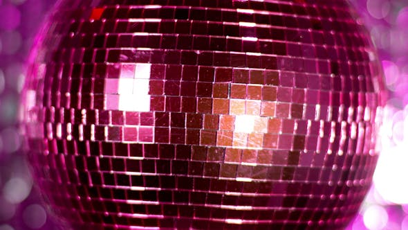 Thumbnail for Pink Discoball 66