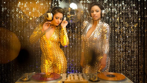 Thumbnail for Sexy Dj Catsuit Disco Women Music 3