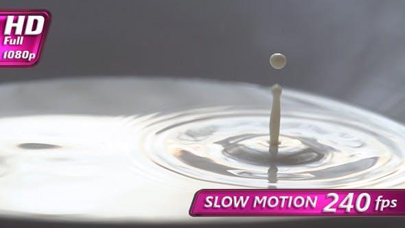 Thumbnail for Falling Drops of Milk