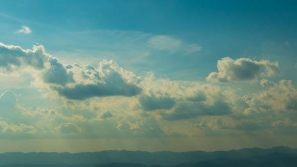 Thumbnail for Sky Sunshine On Mountain