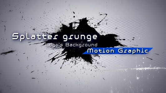 Thumbnail for Paint Splatter Grunge - Logo's Background