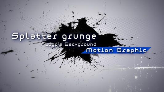 Thumbnail for Paint Splatter Grunge - Logo's Background