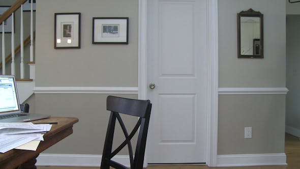 Thumbnail for A Man  Going To Dining Room Table To Work On His Finances (3 Of 4)