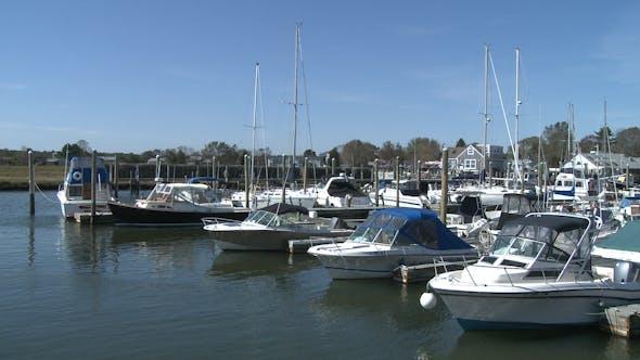 Thumbnail for Motor Boats Docked At Marina (3 Of 3)