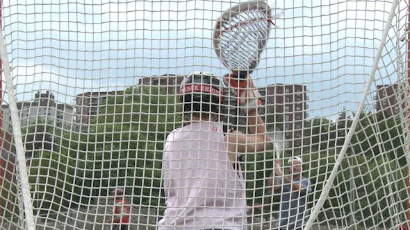 Thumbnail for Boys Lacrosse Goalie Practicing (2 Of 2
