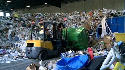 Bulldozer Handling Waste (4 Of 9)