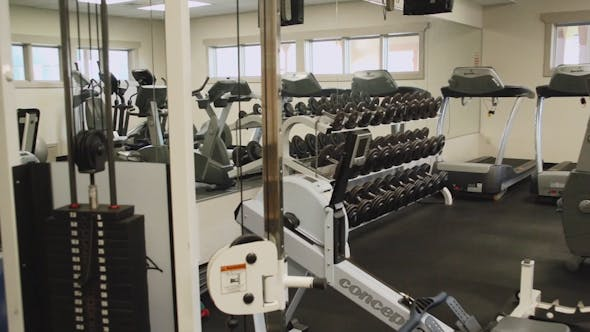 Inside A Gym Facility (3 Of 4)