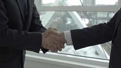 Respectful Greeting Handshake