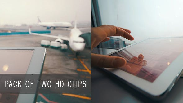 Thumbnail for Using Pad at Airport