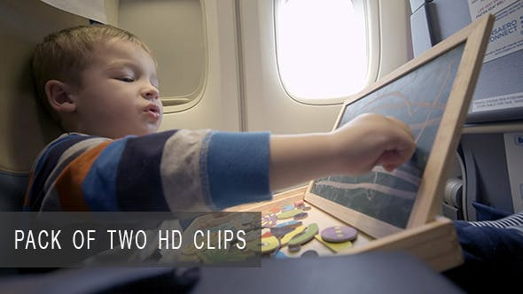 Thumbnail for Child Playing during Flight