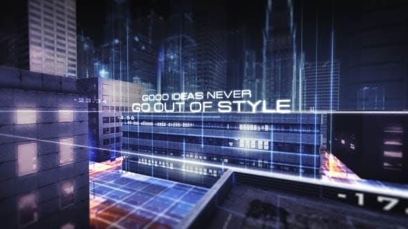 Thumbnail for Futuristic City Titles