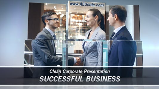 Thumbnail for Successful Business - Clean Corporate Presentation