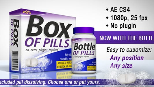 Thumbnail for 3D Medicine Box And Bottle
