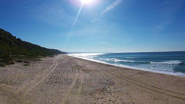 Thumbnail for Waves Crashing on Beach