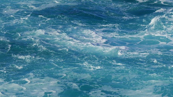 Thumbnail for View of Wavy Water Surface