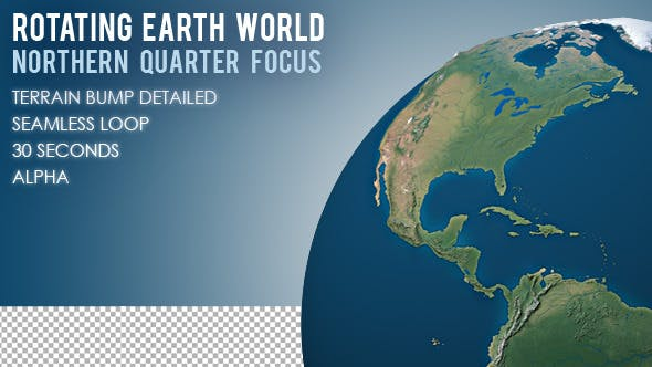 Rotating Earth World - Northern Quarter Focus