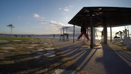 Making Sport Training near the Seaside