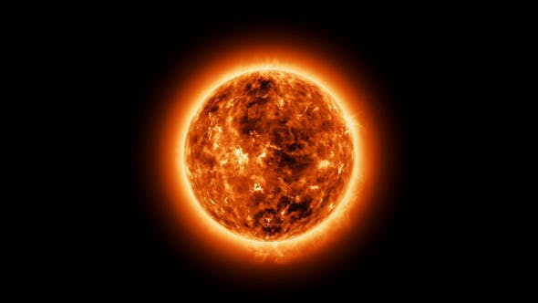 The Sun with Atmosphere Solar