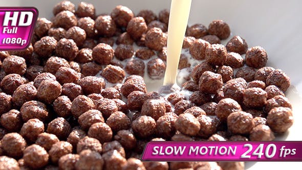 Thumbnail for Milk Pouring in Chocolate Corn Balls