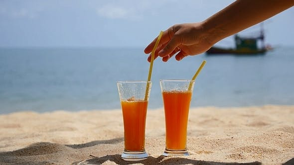 Juice and Beach