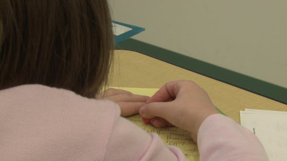 Thumbnail for Grammar School Students Working On Papers In Classroom (5 Of 11)