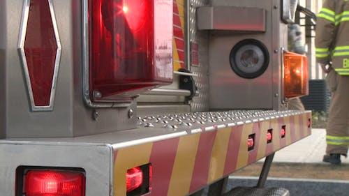 Lights On Fire Engine (4 Of 4)